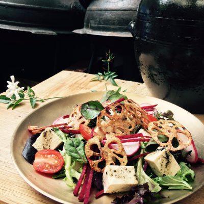 tofu salad HangAri