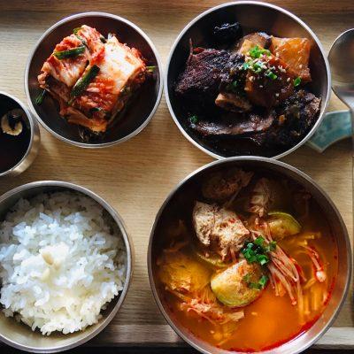 Korean-meal-