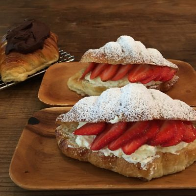strawberry-croissant